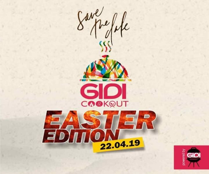 Gidicookout Easter 2019
